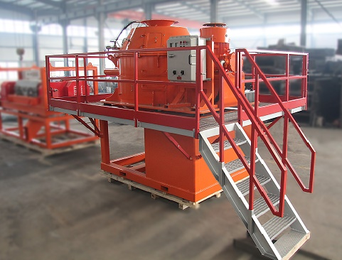 Shipment of BWLS Vertical Cuttings Dryer