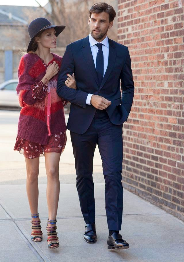 Olivia Palermo and Johannes Huebl For Tommy Hilfiger Collection