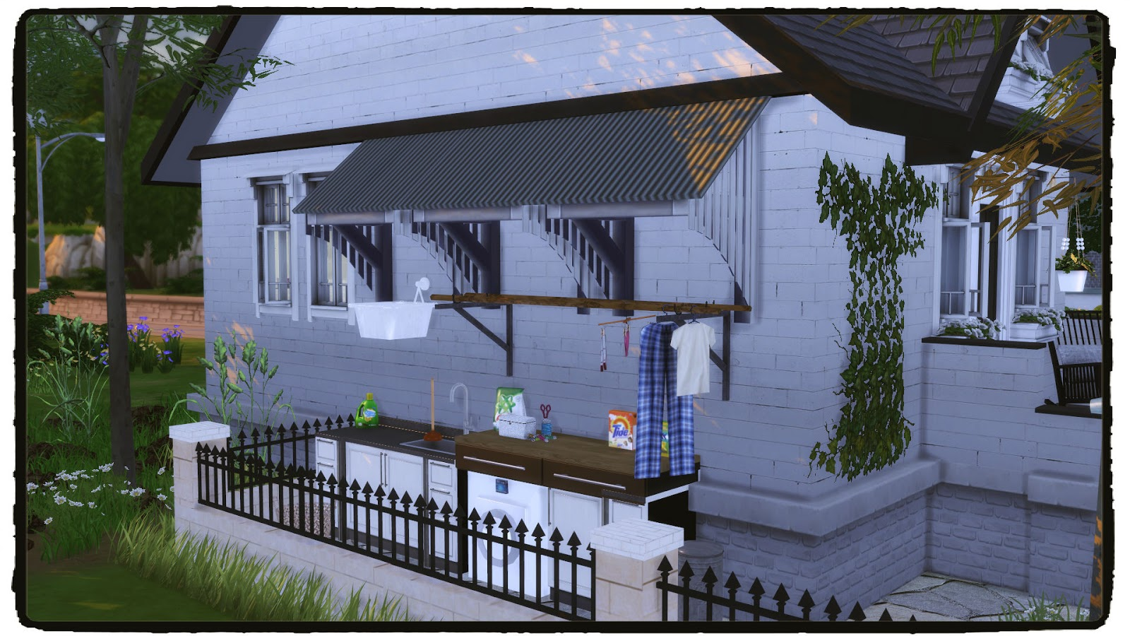 Sims 4 small but cozy house dinha for Cozy homes