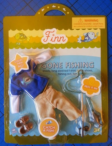 Finn Doll for boys Gone Fishing accessory set review
