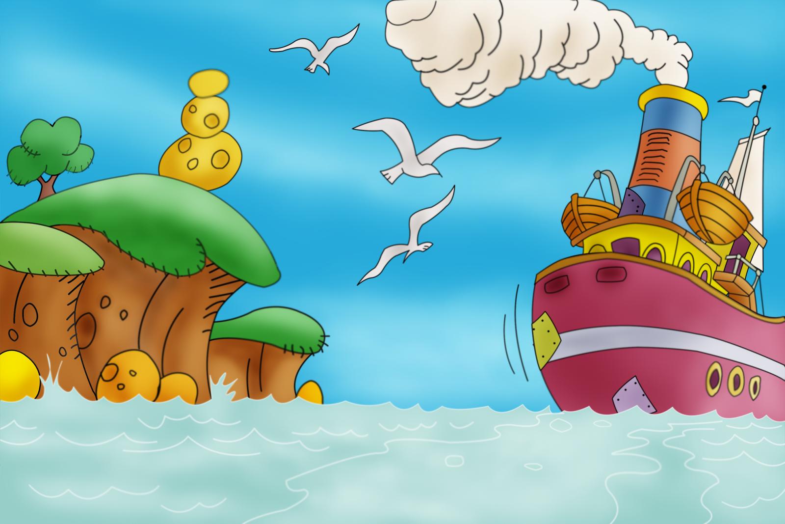 Imagenes y wallpapers fondo de pantalla para ni os - Imagenes de barcos infantiles ...