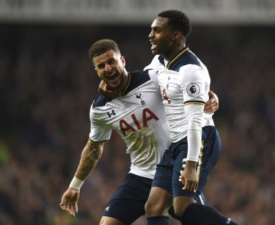 Walker and Rose showing Spurs loyalty