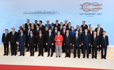 G20 Summit participants.