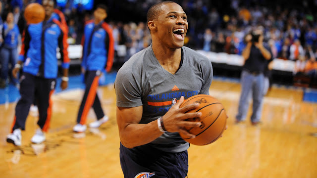 The russell westbrook has made a contest of the best superstar of the NBA
