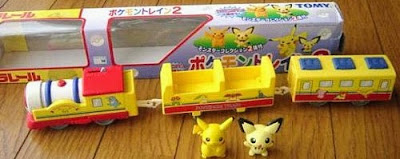 Pichu figure in Pokemon Train 2