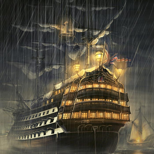 Ship in Storm Wallpaper Engine