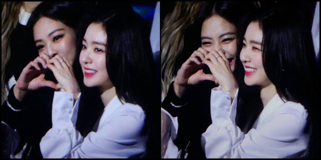 Hangatnya Hubungan Jennie x Irene di 'Gaon Chart Music Awards'