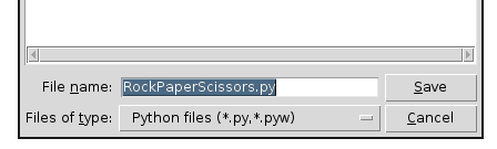 Trevor Appleton: Basic Python - Rock Paper Scissors