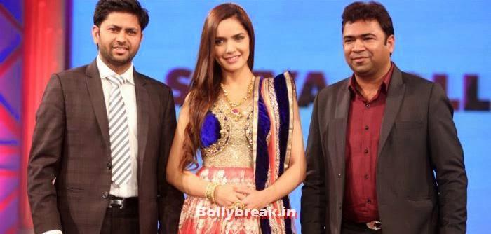 Shazahn Padamsee, Aditi Rao, Shazahn, Rochelle at Retail Jeweller Indian Trendsetter 2014 Show