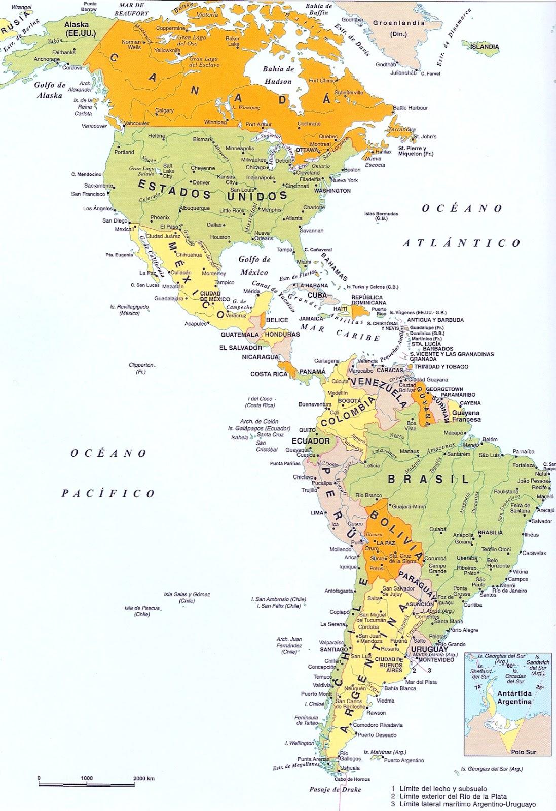 América, Geografia e História da América