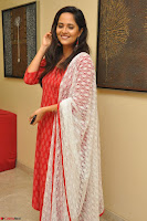 Anusuya in Red at Kalamandir Foundation 7th anniversary Celebrations ~  Actress Galleries 050.JPG