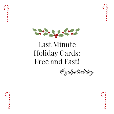 Last Minute Holiday Cards: Free and Fast!
