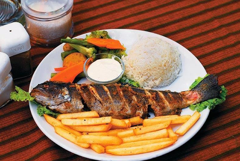 Image result for kullu trout dish