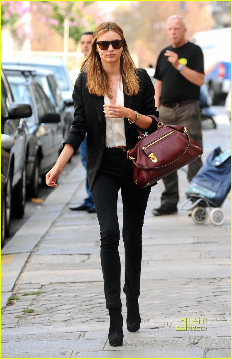 Style Scented Supermodels Outside The Catwalk Miranda Kerr
