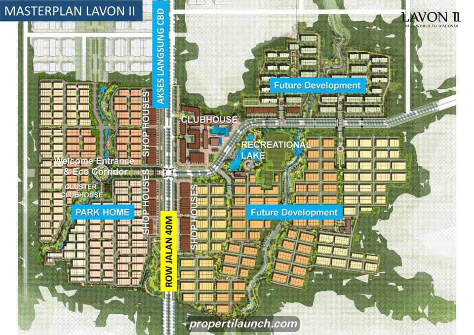 Lavon 2 Master Plan