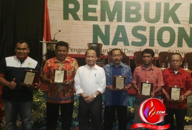 Pekon Gisting Bawah Raih Penghargaan Desa Terbaik Nasional