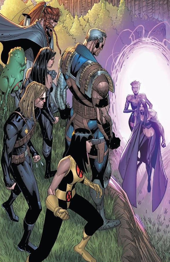 cable newer mutants selene marvel comics jon malin