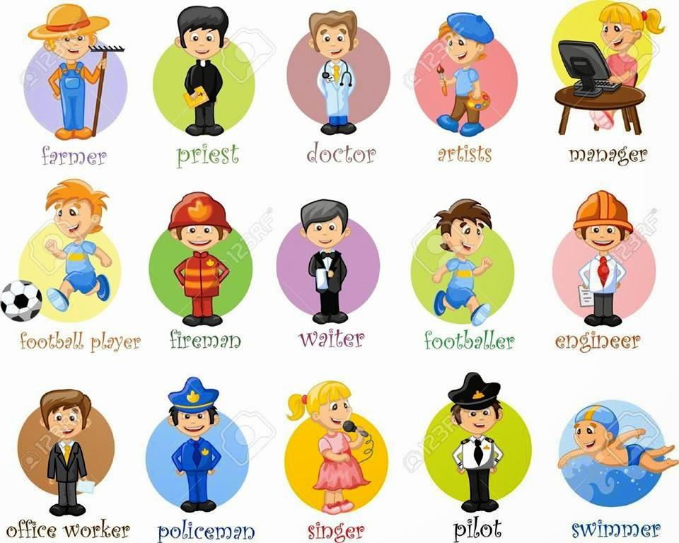 19 profesiones en inglés - Imagui