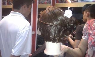 học bới tóc cô dâu, dạy nghề tạo mẫu tóc nam nữ tại hà nội