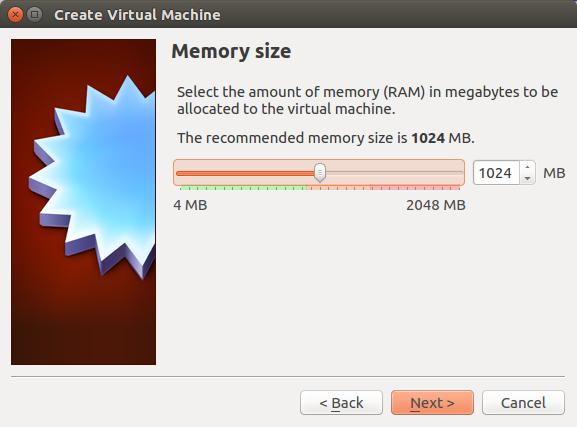 Setting Memory Virtual