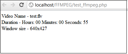 PHP Basics: Installing and working with FFMPEG with PHP