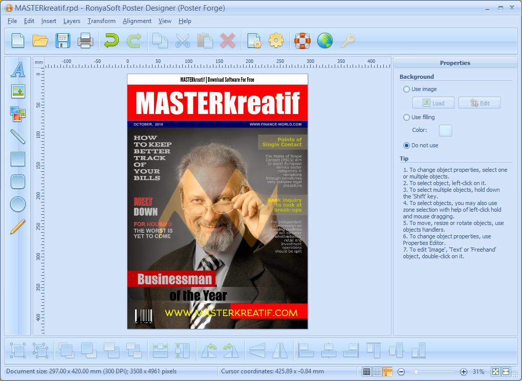 RonyaSoft Poster Designer 2.01.55