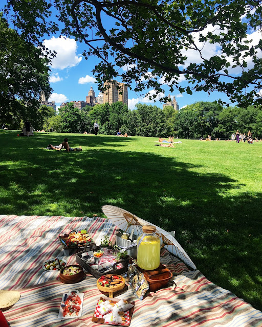 Perfect Picnic NYC with Westhouse NY in Sheep's Meadow in Central Park