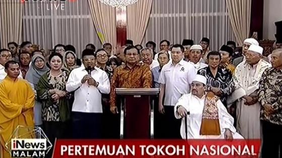 Indahnya Kebhinekaan Tanpa Provokasi, Para Tokoh Nasional Lintas Suku-Agama Bertemu di Rumah Prabowo