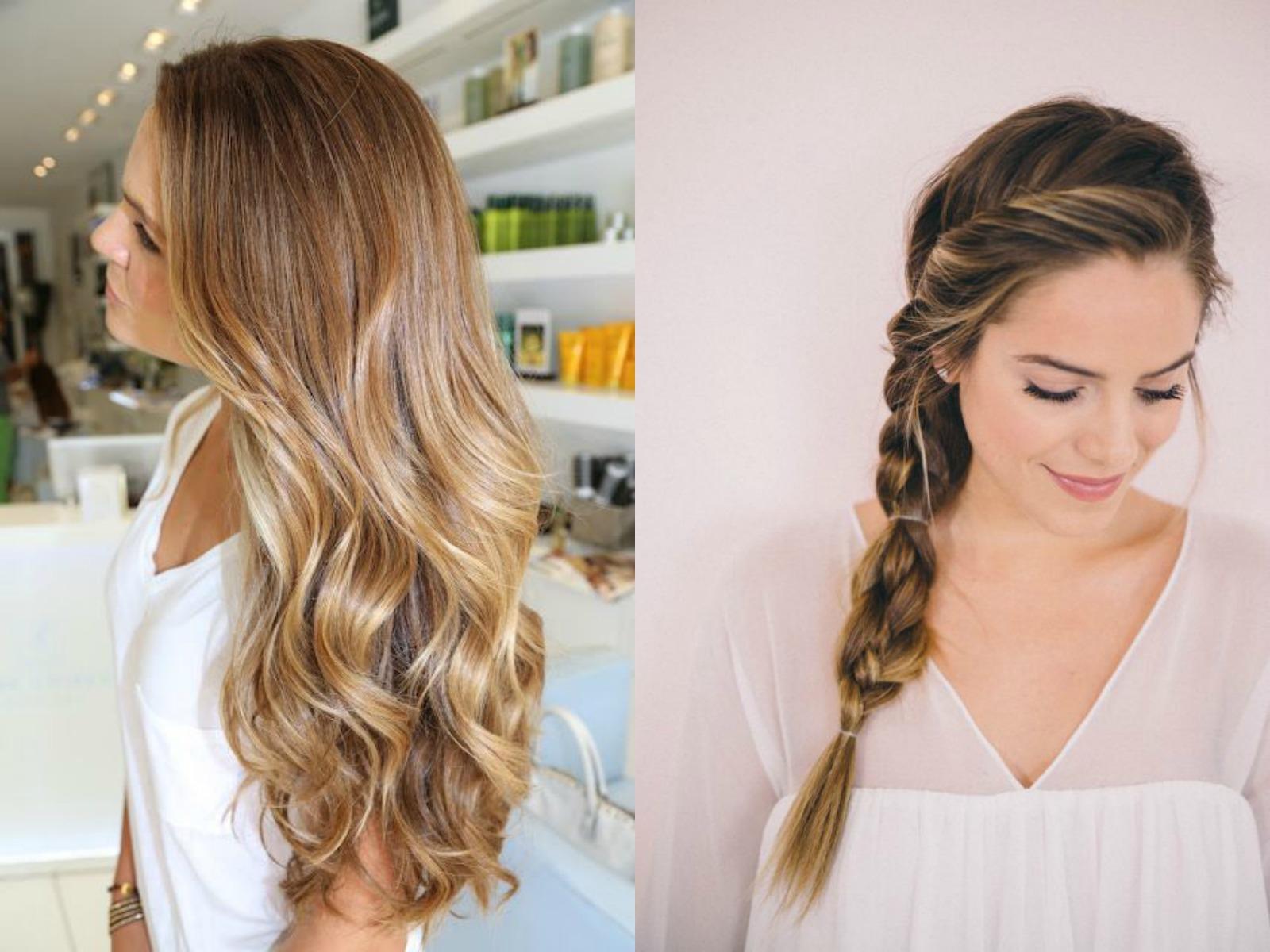 Come fare i capelli mossi senza ferro o piastra | Beauty