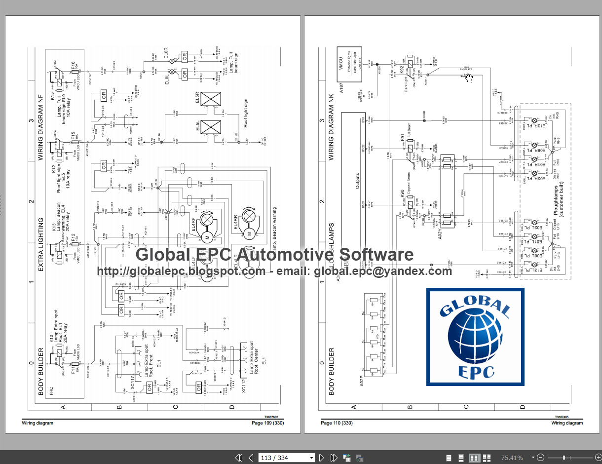 automotive repair manuals volvo trucks buses fe fl fh fm nh b9 b11 multiplex electrical system [ 1220 x 940 Pixel ]
