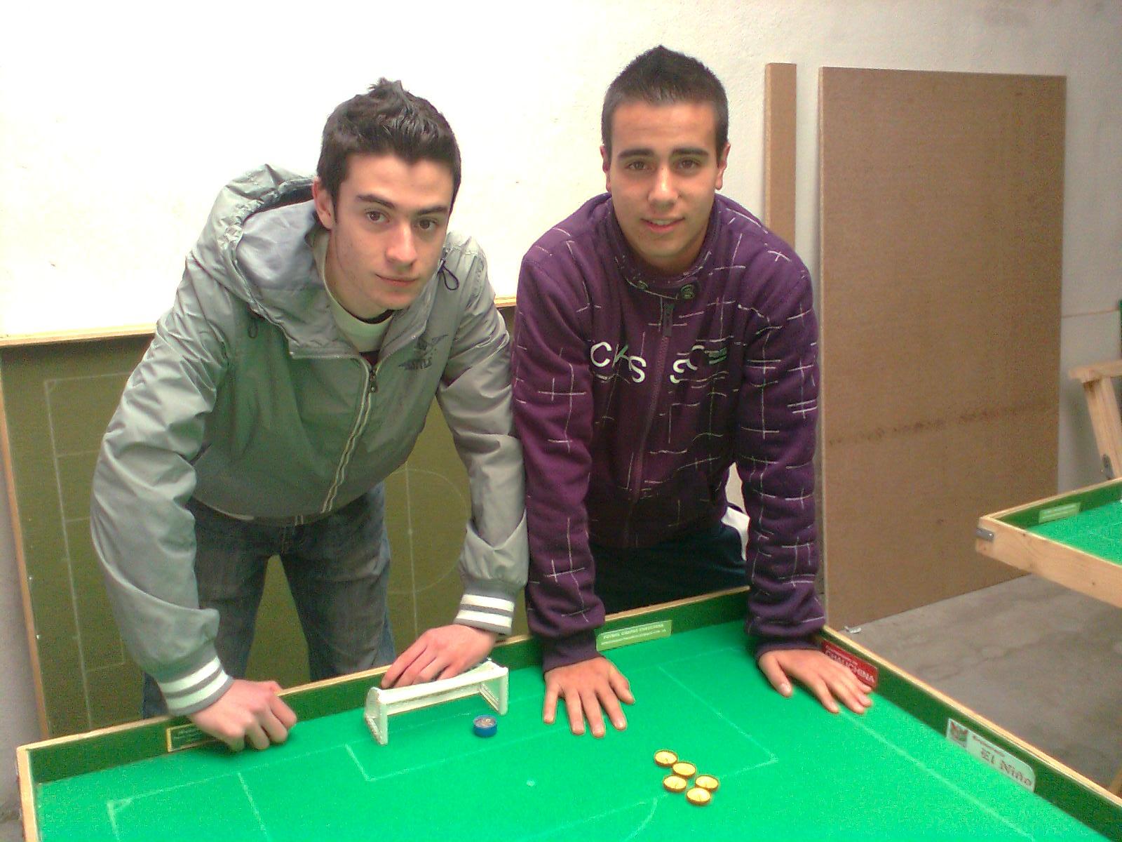 Dario y Alberto mano a mano por la liga
