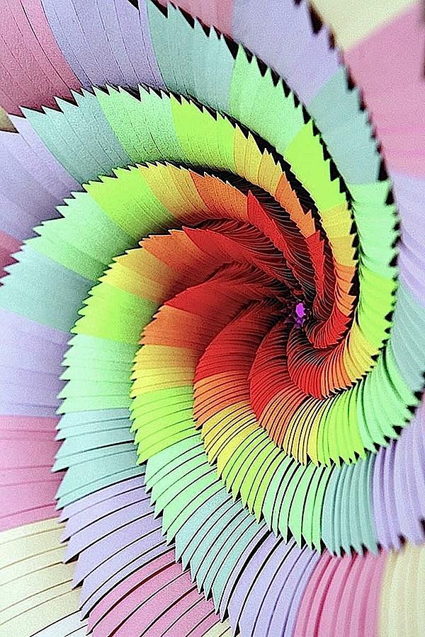 A Jen Stark papercut