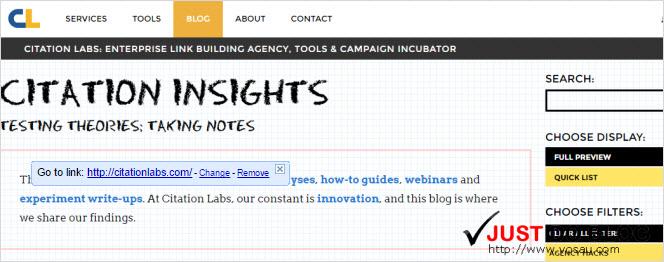 Citation Labs blog