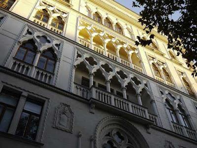 Dogenhof, ovvero la facciata della Ca' d'Oro replicata a Vienna