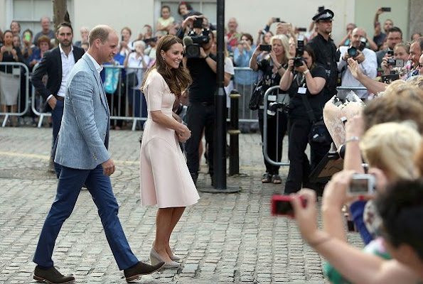 Prince William and Kate Middleton visited Truro Cathedral and Zebs Youth Centre as part of their day-long tour of Cornwall