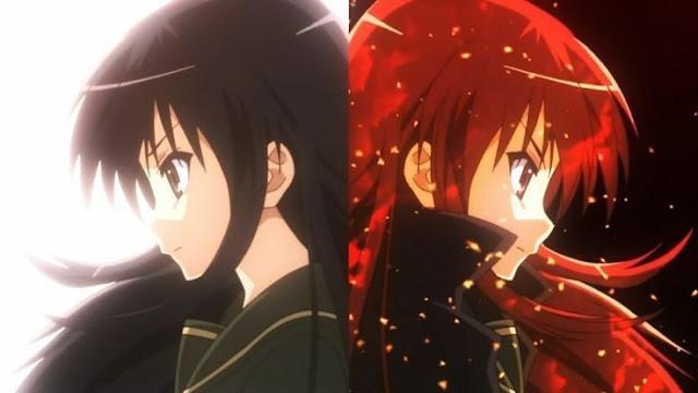 Shakugan No Shana di Rekomendasi Anime Romance - Shoujo terbaik