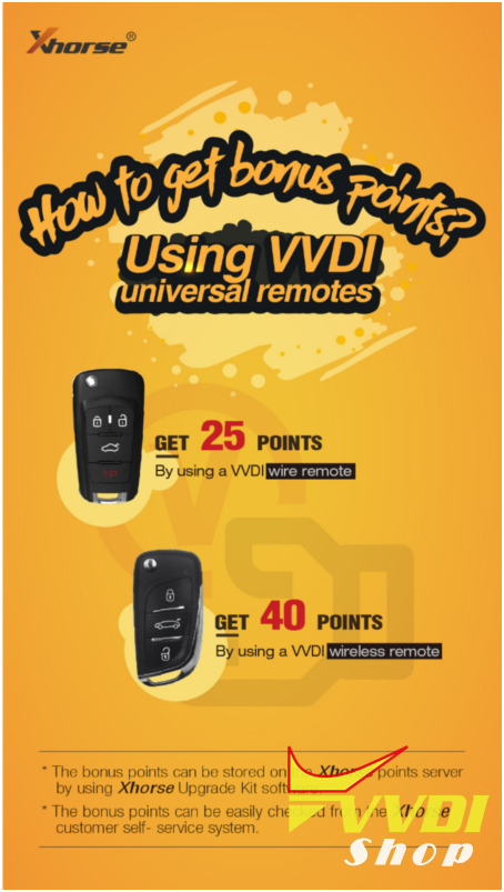 vvdi-remote-points