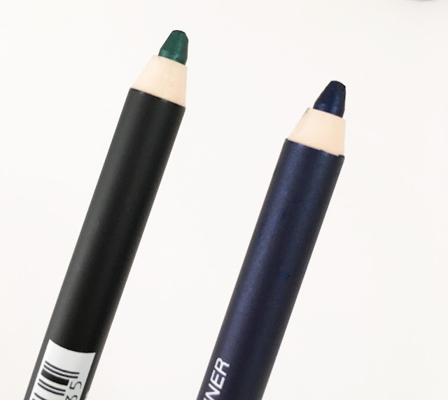 Esterel Cosmetics Eyeliner 415 Ultra Green & 419 Dark Blue