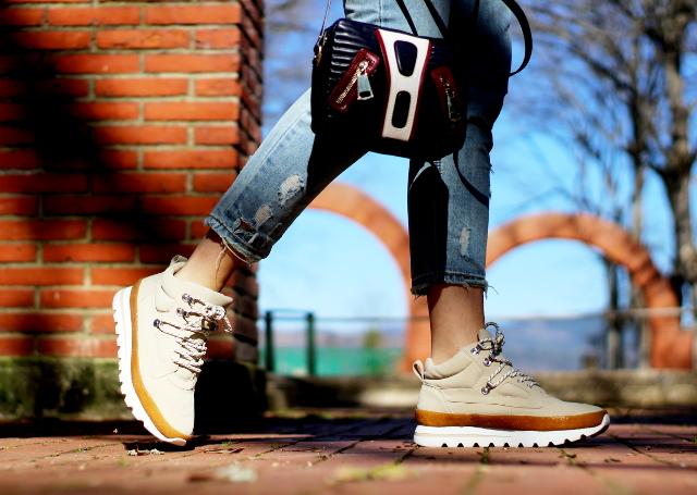 Luz y zapatillas