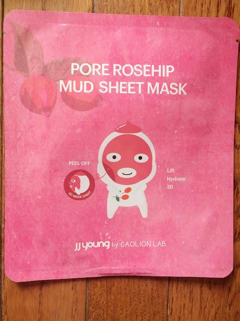 K-Beauty Mud Sheet Mask