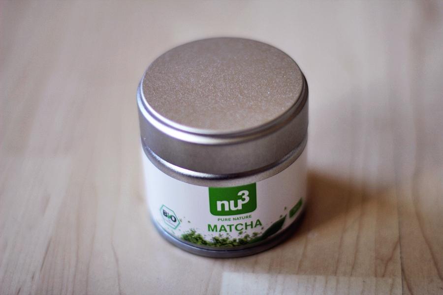 nu3 matcha grüner tee pulver