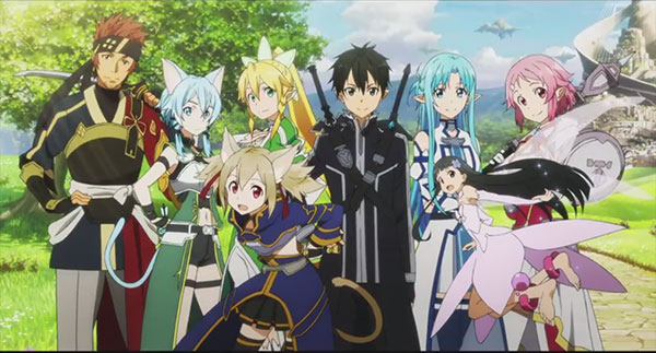 Review anime Sword Art Online 'Terjebak di dunia Game mematikan' - ALO