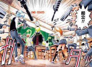 Isi Cerita Komik Jepang Assasination Classroom Chapter 1 – Waktu Pembunuhan