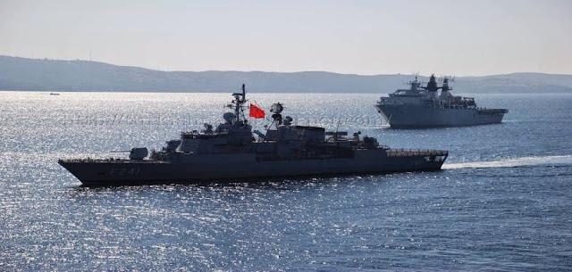 Το γκρίζο σχέδιο των Τούρκων για το  Αιγαίο