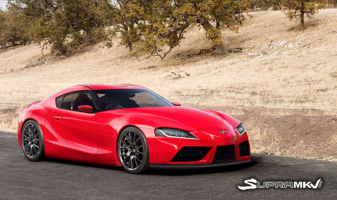 Toyota Ft 1 Price >> 2019 Toyota Supra Tries On A Slew Of Colors | Carscoops