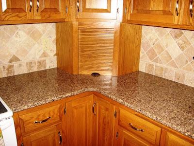 Desain Meja Dapur Dari Granit Modern Untuk Rumah Minimalis 2