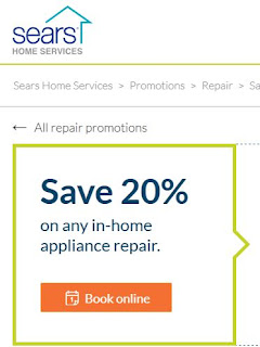 Sears appliance coupon code april 2018