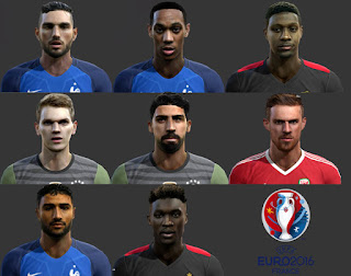 Facepack Euro 2016 Pes 2013 By Boulbaba