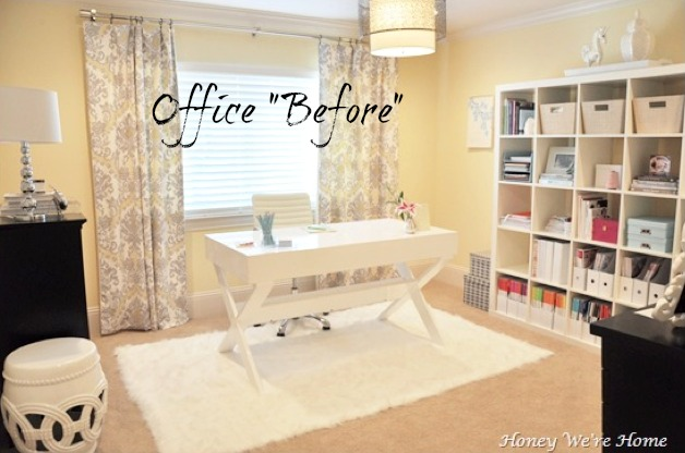 Honey We - Office Walls Decorating're Home: Office Decor Updates