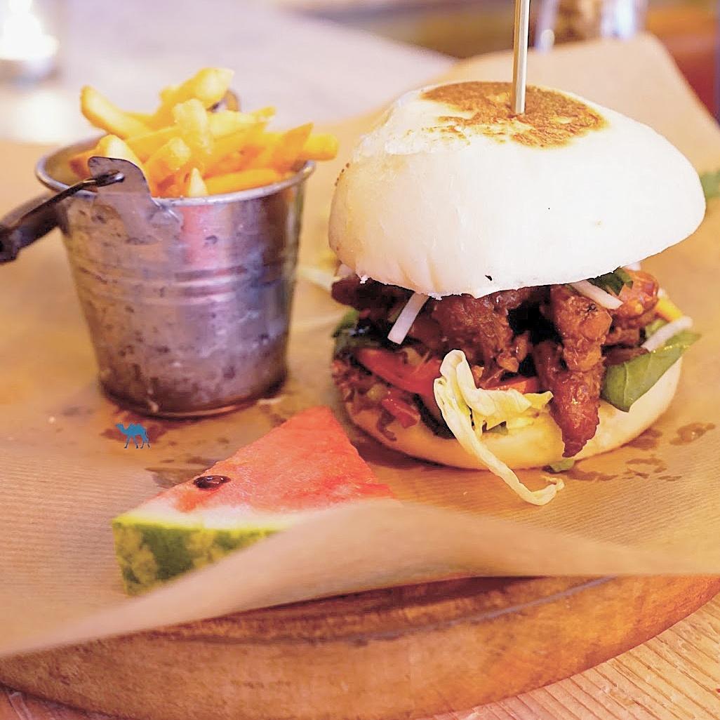 Le Chameau Bleu - Blog Voyage Berlin Allemagne - Bar Burger de PAN BAO
